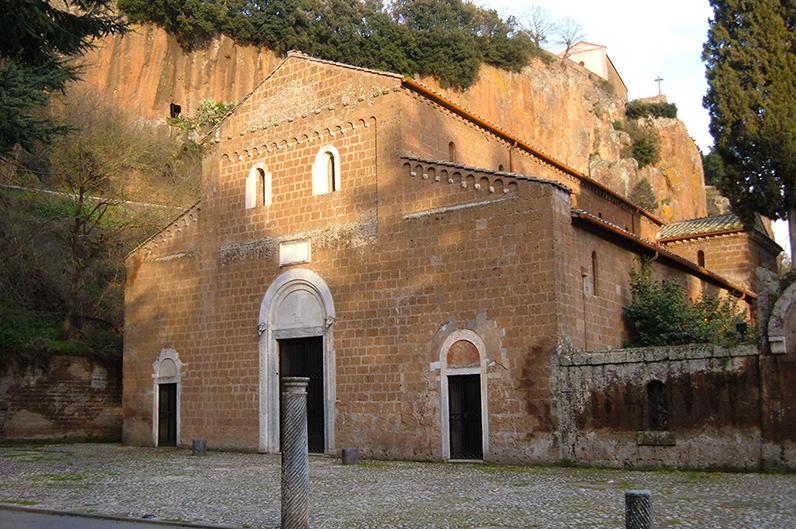 Castel Sant' Elia - basilica